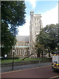SS6592 : St Mary's Church, Swansea by John Lord