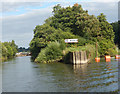 SO8163 : River Severn above Holt Lock by Stephen McKay