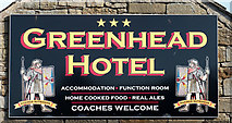 NY6565 : Advertisement - Greenhead Hotel (August 2016) by The Carlisle Kid