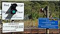 NY6665 : Blenkinsop crossing - Greenhead (August 2016 - 2) by The Carlisle Kid