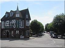 SZ1593 : The Railway pub, Christchurch by Jaggery