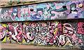 J3374 : Graffiti, Lower Garfield Street, Belfast (August 2016) by Albert Bridge