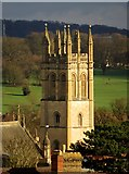 SP5206 : Magdalen College Tower in Oxford by Steve Daniels