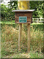 TM0889 : Mail Box at Haugh Farm Commercial entrance by Adrian Cable