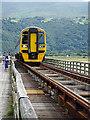 SH6214 : On Barmouth bridge by John Lucas