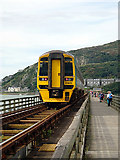 SH6214 : On Barmouth bridge by John Lucas