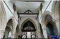 TF0516 : St Andrew's church: Chancel Arch by Bob Harvey