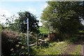SE2502 : Finger post at Castle Green, Penistone by Ian S