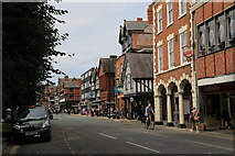 SJ4066 : Foregate Street sample of the eclectic mix of architectural styles in Chester by Peter Turner