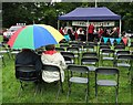 SK2476 : Watching the band at Froggatt Show by Neil Theasby