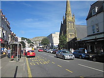 SH7882 : Mostyn Street Llandudno Near St John's Methodist Church by Roy Hughes