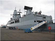 NT2677 : F219 Fregatte SACHSEN by M J Richardson
