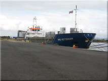 NT2677 : RMS ROTTERDAM in Western Harbour, Leith by M J Richardson