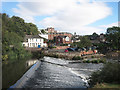 SX9192 : Blackaller Weir, River Exe by Des Blenkinsopp