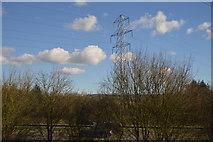 ST0209 : Pylon by the M5 by N Chadwick
