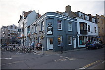 SY6778 : The Royal Oak on Custom House Quay, Weymouyh by Ian S