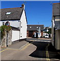 SX9688 : No motor vehicles sign, Ashford Road, Topsham by Jaggery