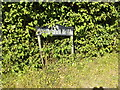 TM0670 : Finningham Hall sign by Adrian Cable