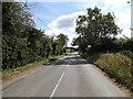 TM0570 : B1113 Walsham Road, Finningham by Geographer