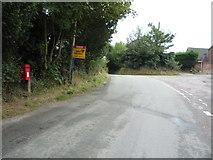 SK0134 : Dodsleigh Lane, Dods Leigh by JThomas