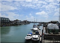 TQ0202 : The River Arun at Littlehampton by Jonathan Thacker