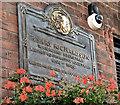J3474 : Henry Richardson plaque, Hill Street, Belfast (September 2016) by Albert Bridge