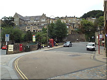 SD9927 : St. George's Square, Hebden Bridge by Malc McDonald