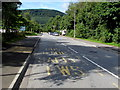 SO2701 : Estate Road bus stop in Pontnewynydd Industrial Estate by Jaggery