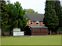 SO9096 : Bowling green and club buildings in Penn, Wolverhampton by Roger  Kidd