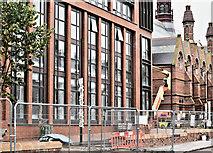 J3372 : New School of Law, Queen's University, Belfast - September 2016(1) by Albert Bridge