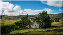 NH4591 : Croick Church by Peter Moore