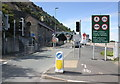 SH7076 : Part time signals, High Street, Penmaenmawr by Jeff Buck