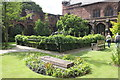 SJ4066 : The Cloister Garth at Chester Cathedral by Jeff Buck
