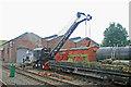 SK0307 : Chasewater Railway - steam crane by Chris Allen