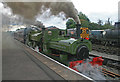 SK0307 : Chasewater Railway - volcanic departure by Chris Allen