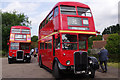TL4903 : Vintage buses at North Weald Station by Stephen McKay
