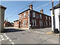 TM0890 : The Inn on the Green Public House, New Buckenham by Adrian Cable