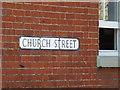 TM0890 : Church Street sign by Geographer