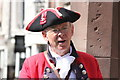SJ4066 : Chester Town Crier at the High Cross by Jeff Buck