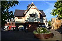 SP7387 : The Old Grammar School, Market Harborough by David Martin