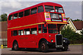 TL4903 : Vintage bus at North Weald Station by Stephen McKay