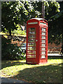 TM0890 : Telephone Box on Boosey's Walk by Adrian Cable