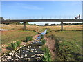 SX9291 : Flood Relief Channel in Dry Weather by Des Blenkinsopp