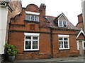 TG1001 : House in Church Street with Victoria Jubilee plaque by Adrian S Pye