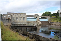 NN9357 : Pitlochry hydro electric power station and dam by Richard Hoare