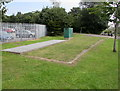 ST1167 : Sewage pumping station above Dock View Road, Barry by Jaggery