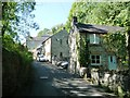 SK2854 : Houses on and above The Dale, Wirksworth by Christine Johnstone