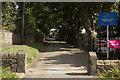 SE2131 : Gateposts, Fulneck by Mark Anderson