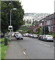 ST3089 : Your speed indicator facing Barrack Hill, Newport by Jaggery