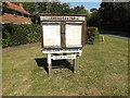 TM1494 : Tacolneston Village Notice Board by Adrian Cable